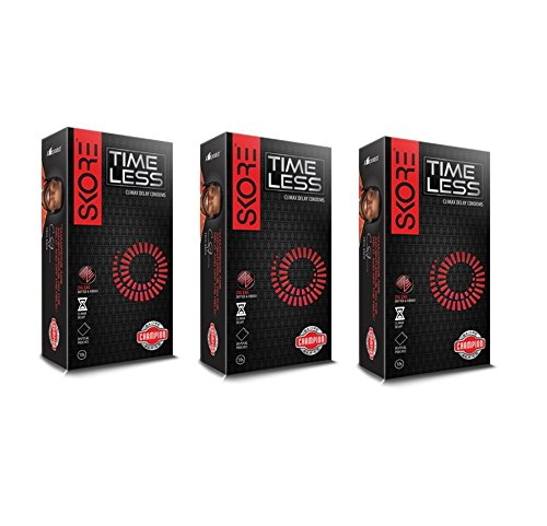 Skore Timeless Climax Delay Condoms - 10 Pieces (Pack of 3)
