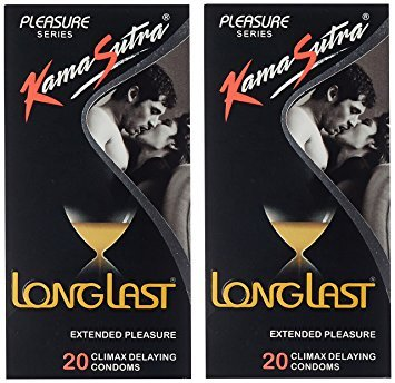 Kama Sutra Long-last Condom (40 Condoms)