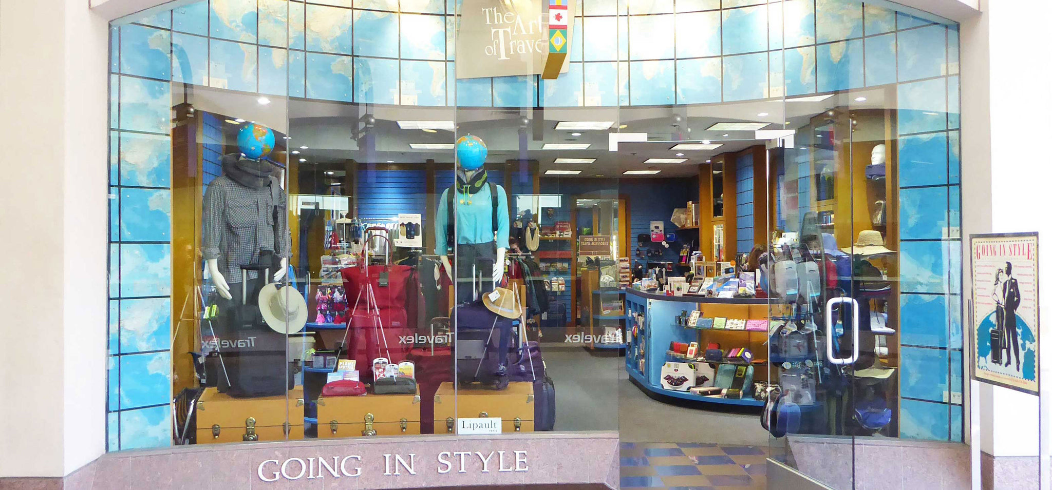 Going In Style Stanford Storefront in Bay Area California
