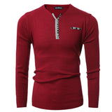 Men 's V - neck Fashion Sweater