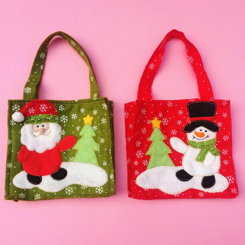 Christmas Gift Bags Candy Bag