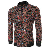 Ethnic Style Men's Printing Jacket