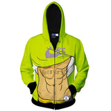 Muscle Printed 3D Sweatshirts