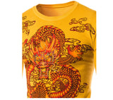Men's Casual Dragon Printing Sweater