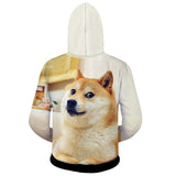 Dog 3D Print Hoodies Men