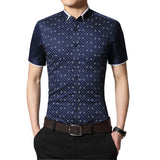 Slim Short-sleeved Business Shirt