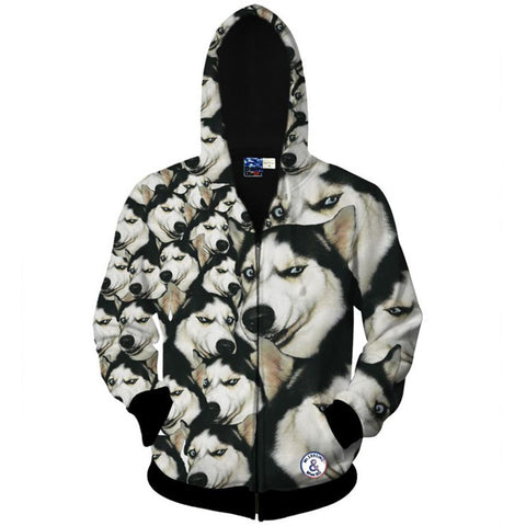 3D Hooded Hoodies Men