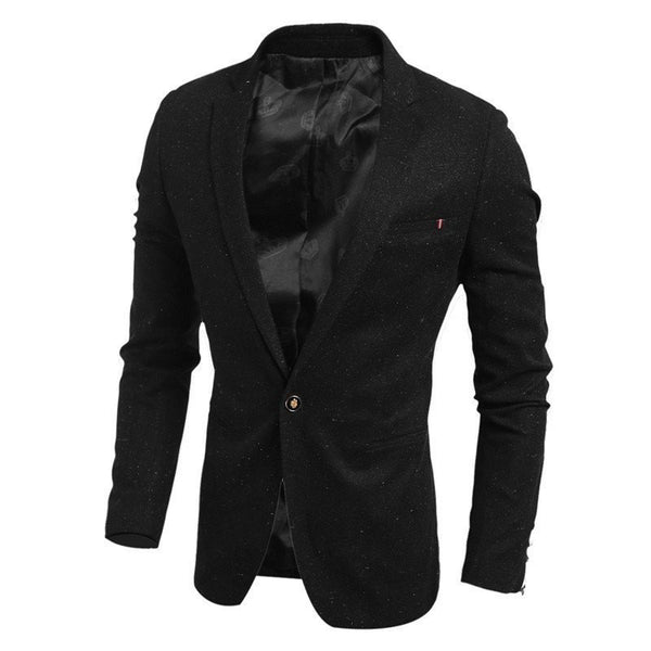 Blazers - Solid Casual Blazer Men