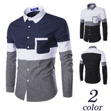Fashion Spell Color Long-sleeved Shirt