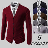 Cardigans - Slim Business Sweater