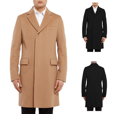 Coat - Business Woolen Coat (Exclusive Deal)