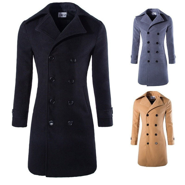 Coat - Long Trench Coat
