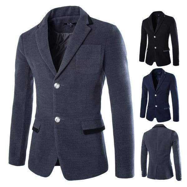 Coat - Single-breasted Blazer