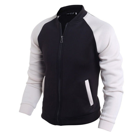 Jacket - Black White Pactwork Jackets