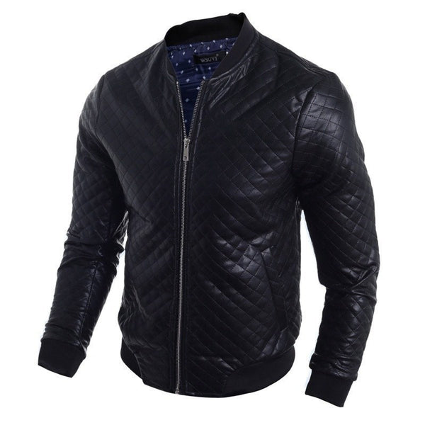 Jacket - Casual Leather Jackets Men