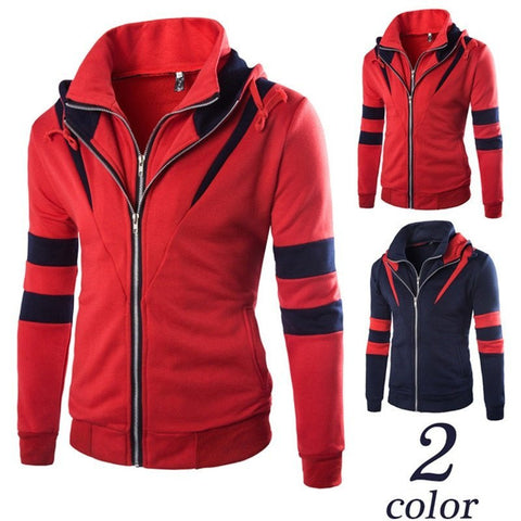 Jacket - Casual Patchwork Jacket