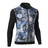 Jacket - Fashion Coins Printing Jacket