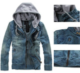 Jacket - Jeans Jackets Hooded