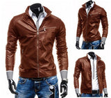 Jacket - Spring Leather Jacket