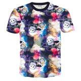 CUTE PANDA PRINTED 3D T-SHIRTS