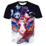 FEATURES PRINTED 3D T-SHIRTS