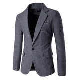 Gentleman Single Button Blazer