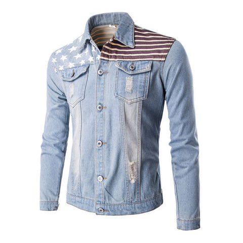 Men 's Cowboy Slim Short Jacket