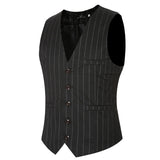 Men's Striped Vest