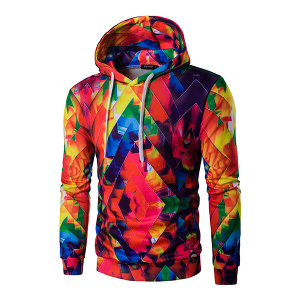 Fashion 3D Digital Print Hoodies