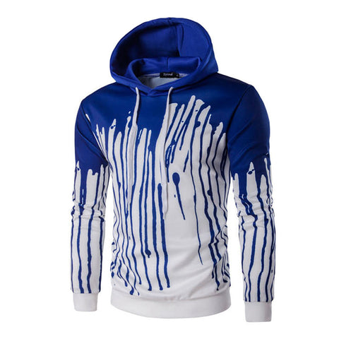 3D Digital Print Design Hooded Sweatshirt