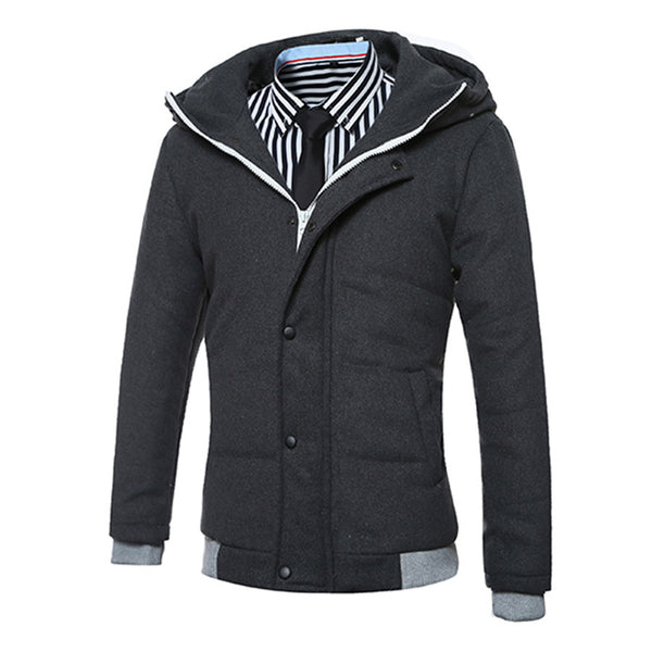 New Fashion Mens Thicken Coat Jacket