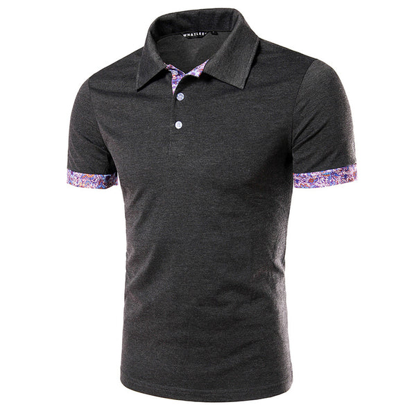 New Fashion Men's Business T-shirts