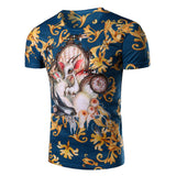 European Style Fashion 3D T-shirt