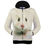 Mouse Printed 3D Sweatshirts
