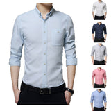 NEW STYLE SOLID COLOR SLIM MEN SHIETS