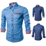 Shirts - Casual Long Sleeve Shirt