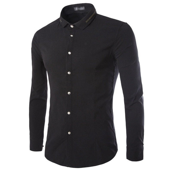Shirts - Casual Solid Shirts Men