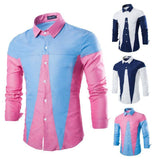 Shirts - Colorful Patchwork Shirt