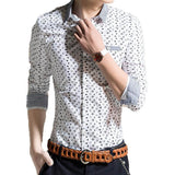 Shirts - Dot Long Sleeve Shirt