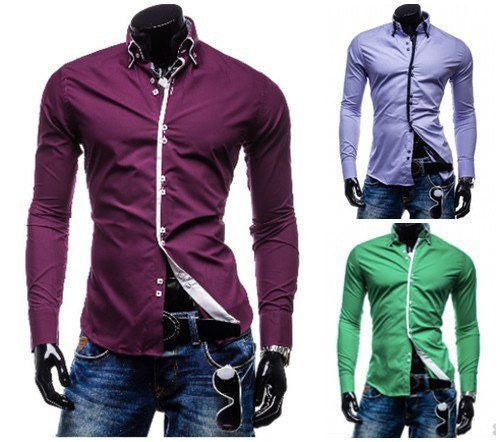 Shirts - Long Sleeve Casual Shirt (Exclusive Deal)