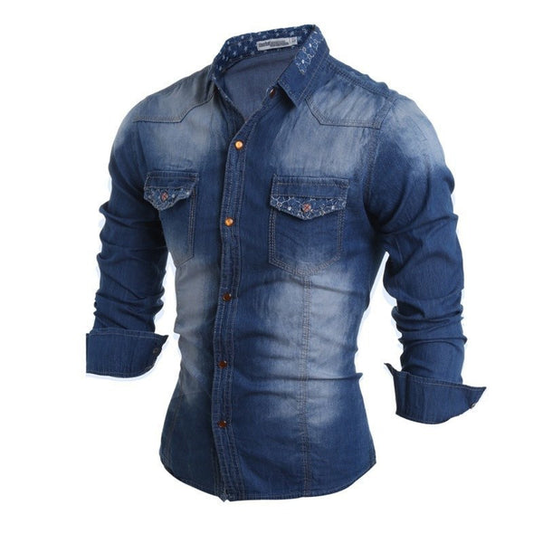 Shirts - Long Sleeve Jean Shirts