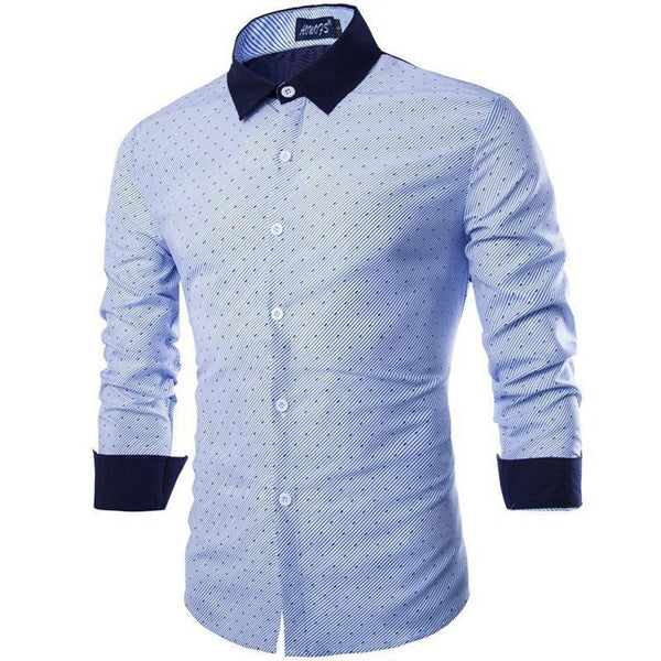 Shirts - Men's Cozy Patchwork Shirt