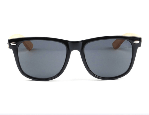Sunglasses - Bamboo Rack Black Box Glasses