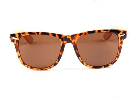 Sunglasses - Bamboo Rack Leopard Box Glasses