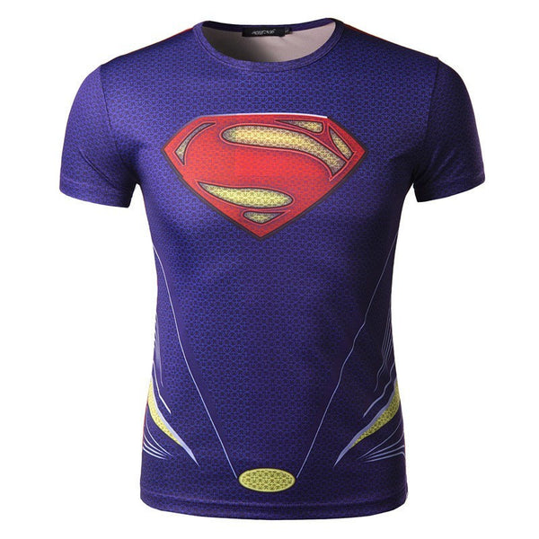 T-Shirt - 3D SuperMan T-Shirt