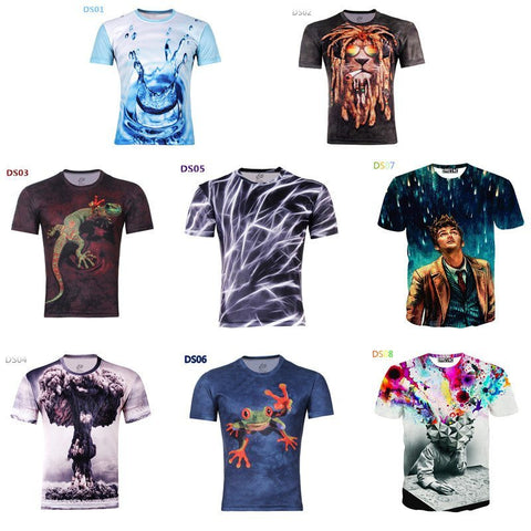 T-Shirt - 3D T-Shirts (Exclusive Deal)