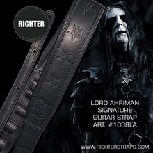 Load image into Gallery viewer, Lord Ahriman Signature Guitar/Bass Strap