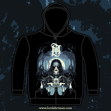 "Load image into Gallery viewer, Lord Ahriman ""In The Sign Of The Horns ZIP-HOOD"