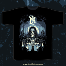 "Carregar imagem no visualizador da galeria, Lord Ahriman ""In The Sign Of The Horns T-SHIRT"