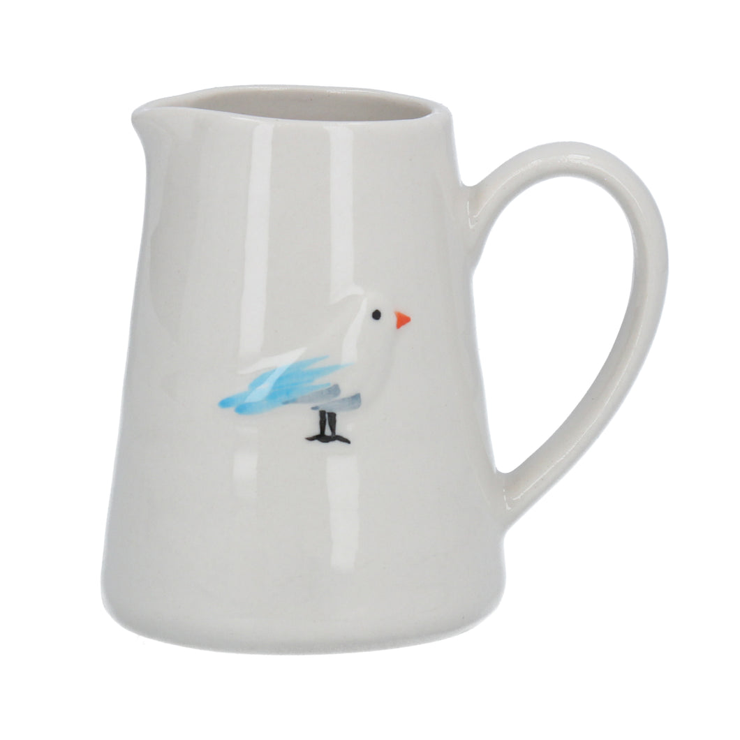 Gisela Graham Seagull Ceramic Milk Jug